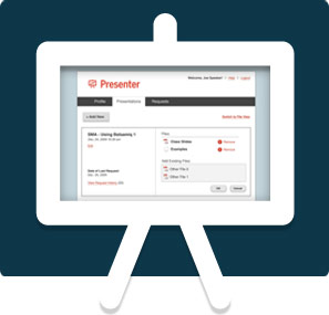 Screenshot of GuestAssist Presenter